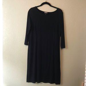 J. Jill Wearever A-Line Dress w 3/4-Length Sleeves
